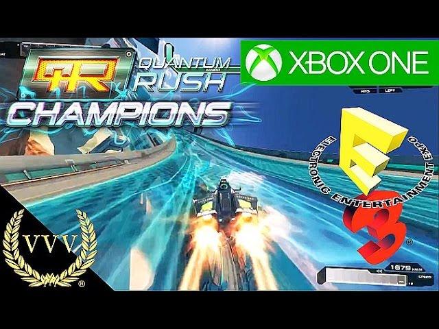 Quantum Rush: Champions E3 2015 Trailer