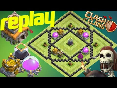 Th8 Farming Base 2017 With Replay Anti Loot Anti Dark Elixir Anti Everything Anti Trophy Anti Giant