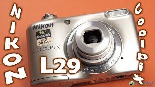 Nikon Coolpix L29: обзор бюджетного фотоаппарата(Цена и наличие: http://rozetka.com.ua/nikon_coolpix_l29_silver/p604685/ Видеообзор фотоаппарата Nikon Coolpix L29 Смотреть обзоры других..., 2014-10-08T10:35:43.000Z)