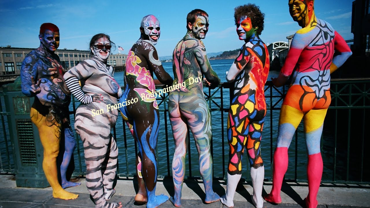 Videos andy golub videos trailers photos videos for Body paint party city