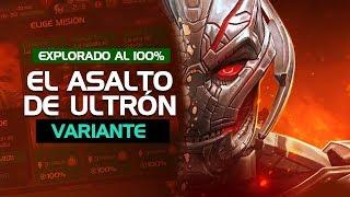 ¡PREMIOS! El Asalto de Ultron al 100% Completado | Marvel Contest of Champions