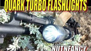 "Quark Turbo Flashlights:  ""Weapon Light Standard"" by Nutnfancy"