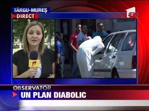 Barbatii din Reghin suspectati de crima au ajuns in arest 23 AUGUST 2011