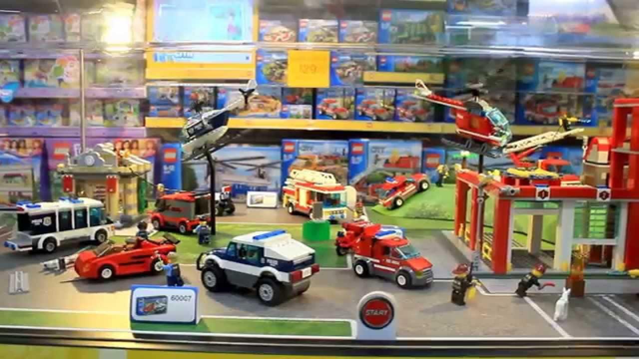 0726f3ef8 Видео обзор конструктора Лего Сити