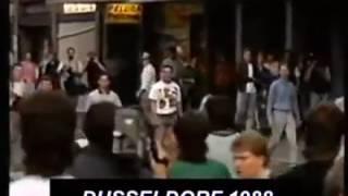 Old School Hooligans Fight - German vs England