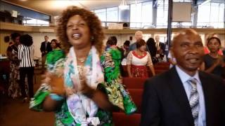 """Ordination de Ps. Fils Ekanga"" a Light of Nations Church, Denver, Colorado"