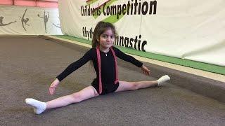 Художественная гимнастика или как прошел наш открытый урок