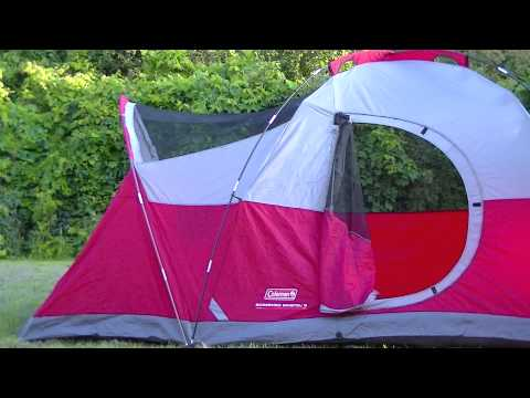 COLMAN SCREENED BRISTAL, HOW TO PUT UP THE TENT - BEWARE OF THE BUTT CRACK