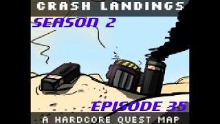 Minecraft [HQM] Crash Landing S2E35 - SFM Security Station and Hacking
