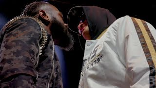 WOW! - WHAT TYSON FURY (MIC'D UP) & DEONTAY WILDER REALLY SAID TO EACH OTHER IN (STRONG LANGUAGE)