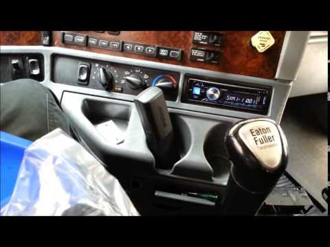 Installing An Alpine Satilite Bluetooth Radio Into 2012 Freightliner on