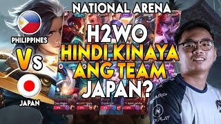 H2WO HINDI KINAYA ANG MGA TOP PLAYERS NG JAPAN?! - National Arena
