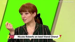 Nicola Roberts talks about Cheryl on Loose Women