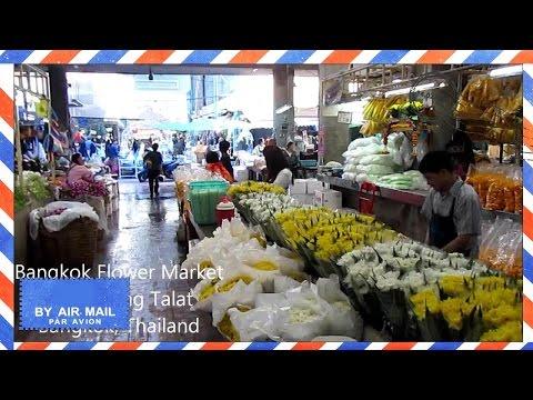 Bangkok Flower Market - Pak Khlong Talat, Bangkok tourist attractions - Thailand