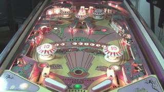 Bally Old Chicago Pinball Machine