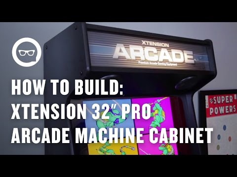 How To Build An Arcade Machine Xtension 32 Quot Pro Arcade