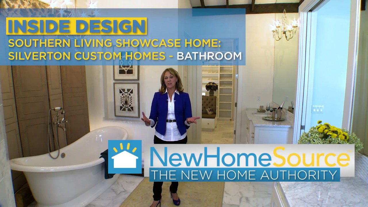 Episode 7 Southern Living Showcase Home Master Bathroom Youtube