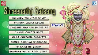 Latest Gujarati Bhajan | Shreenathji Satsang | Part 1 | Shreenathji Bhajan | Full Audio JUKEBOX