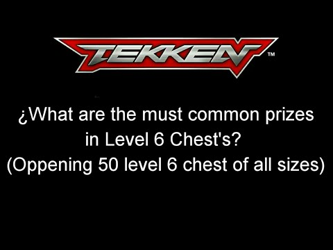 Tekken Mobile - Opening 50 Level 6 Chest to see the must common prizes in there 『鉄拳』