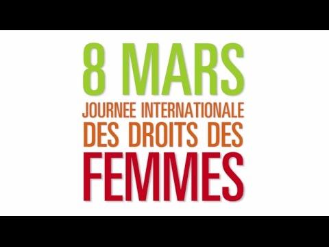 8 mars journ e internationale des droits des femmes youtube. Black Bedroom Furniture Sets. Home Design Ideas