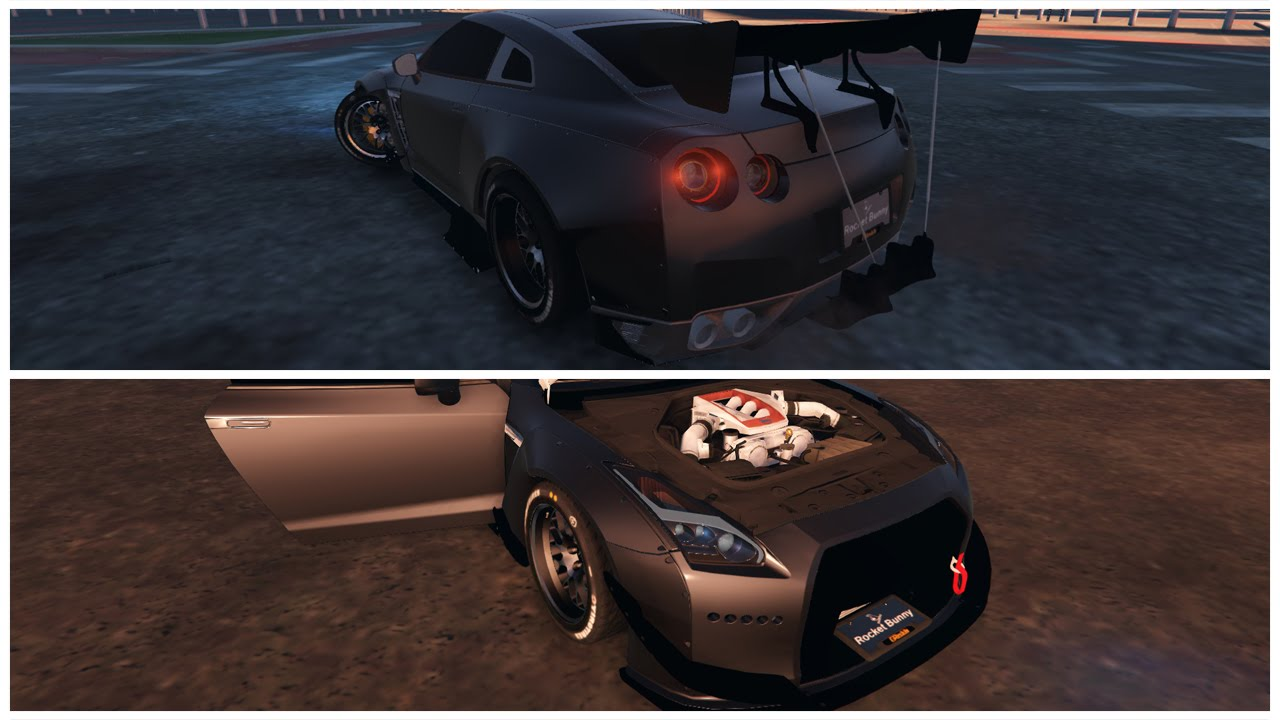 GTA 5 PC | Rocket Bunny GTR R35 Car Mod | Showcase, Build, Drifting, U0026  Cruise/Pulls