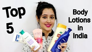WINTER SPECIAL Top 5 Body Lotions In India- soft & radiant skin + with nourishing ingredients
