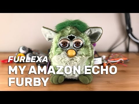 I turned a Furby into an Amazon Echo. I give you: Furlexa