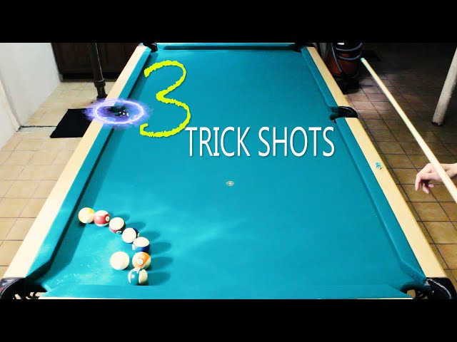 3 Pool Trick Shots: Volume 3