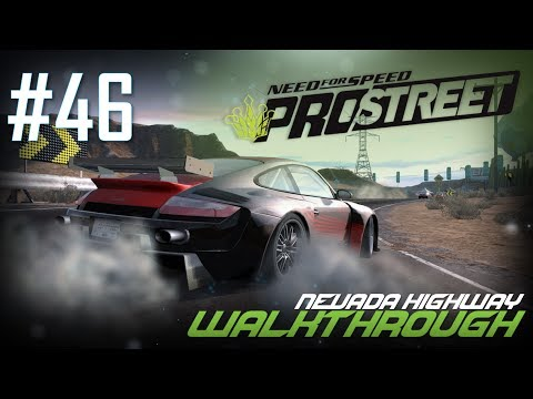 Need for Speed: ProStreet (PC) | Walkthrough Part #46 - Nevada Highway [HD 60FPS]