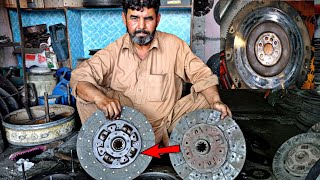 How to Rebuild OĮd Clutch Plate||Restoration Old Clutch Plate||Complete process||