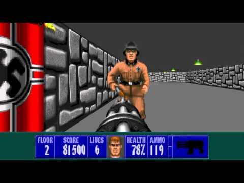 ECWolf - Enhanced Wolf3D Mod (w/ 3DO music)