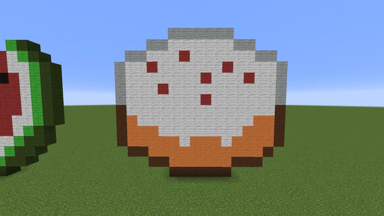 Minecraft Carrot Pixel Art