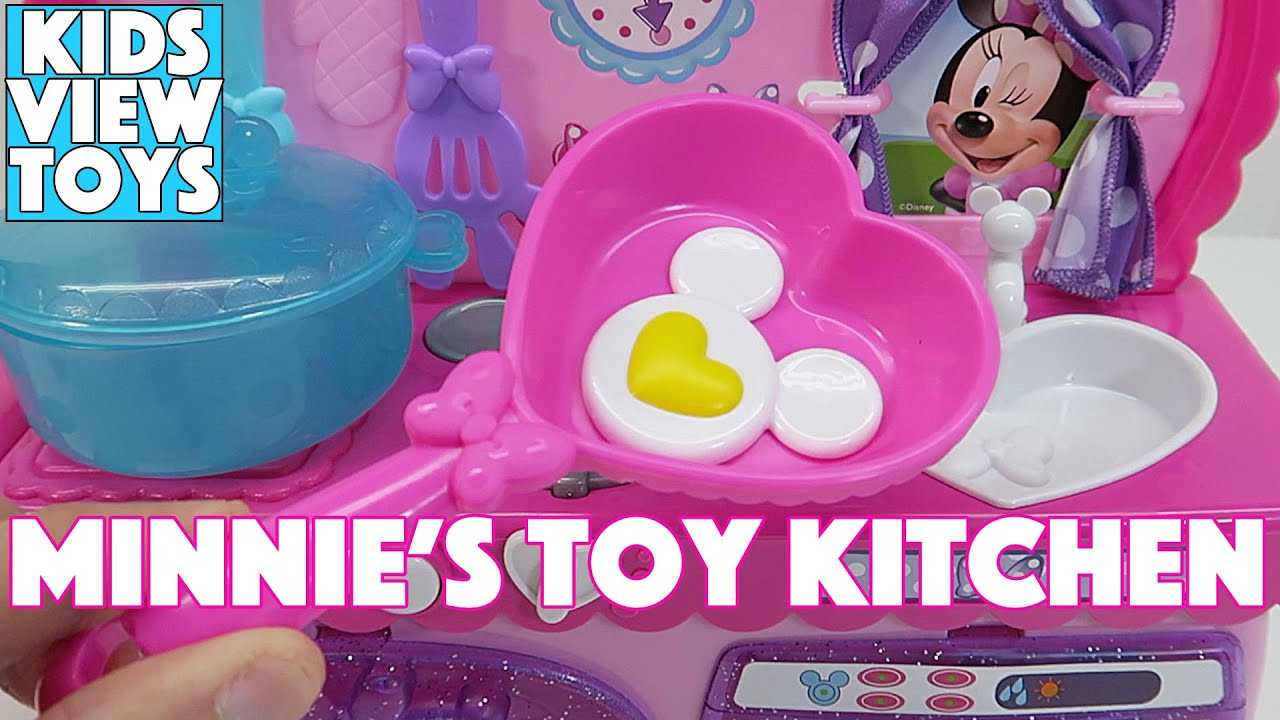 Minnie Mouse Bowtastic | Kitchen Playset - YouTube