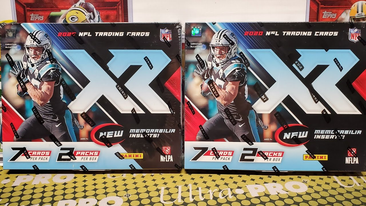 2020 XR Football Hobby Box Opening. 2 Nice Boxes!
