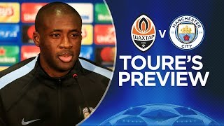 TEAMS RESPECT US | Yaya Toure Press Conference | Shakhtar v Man City | Champions League