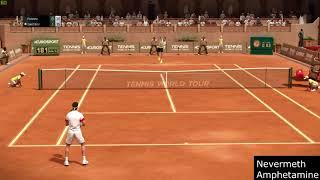 Tennis World Tour 1.04 - Fabio Fognini vs Grigor Dimitrov - PC Gameplay