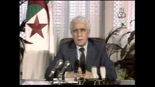 6 octobre 2012 : mort de l'ancien président Chadli Bendjedid