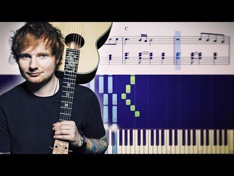 Ed Sheeran - Happier - Piano Tutorial + SHEETS