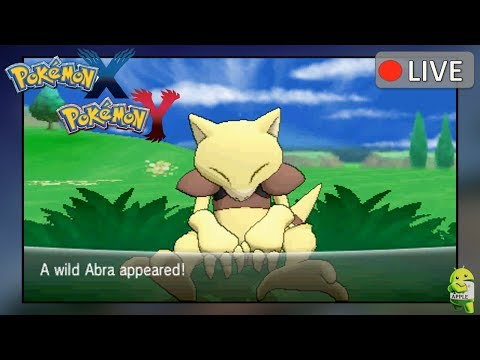 Pokemon X and Y: Shiny Abra found in Friend Safari (Deleted Scenes)
