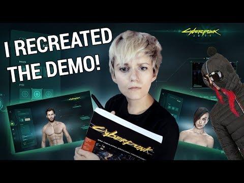 I RECREATED CYBERPUNK 2077 DEMO in Photoshop :o
