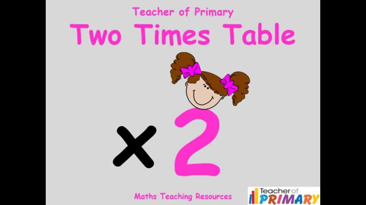 2 times table teaching resource youtube ibookread PDF