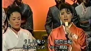 """""""哀愁出船""""は、美空ひばりさんが「私の後継者」として、森昌子さんに歌..."""