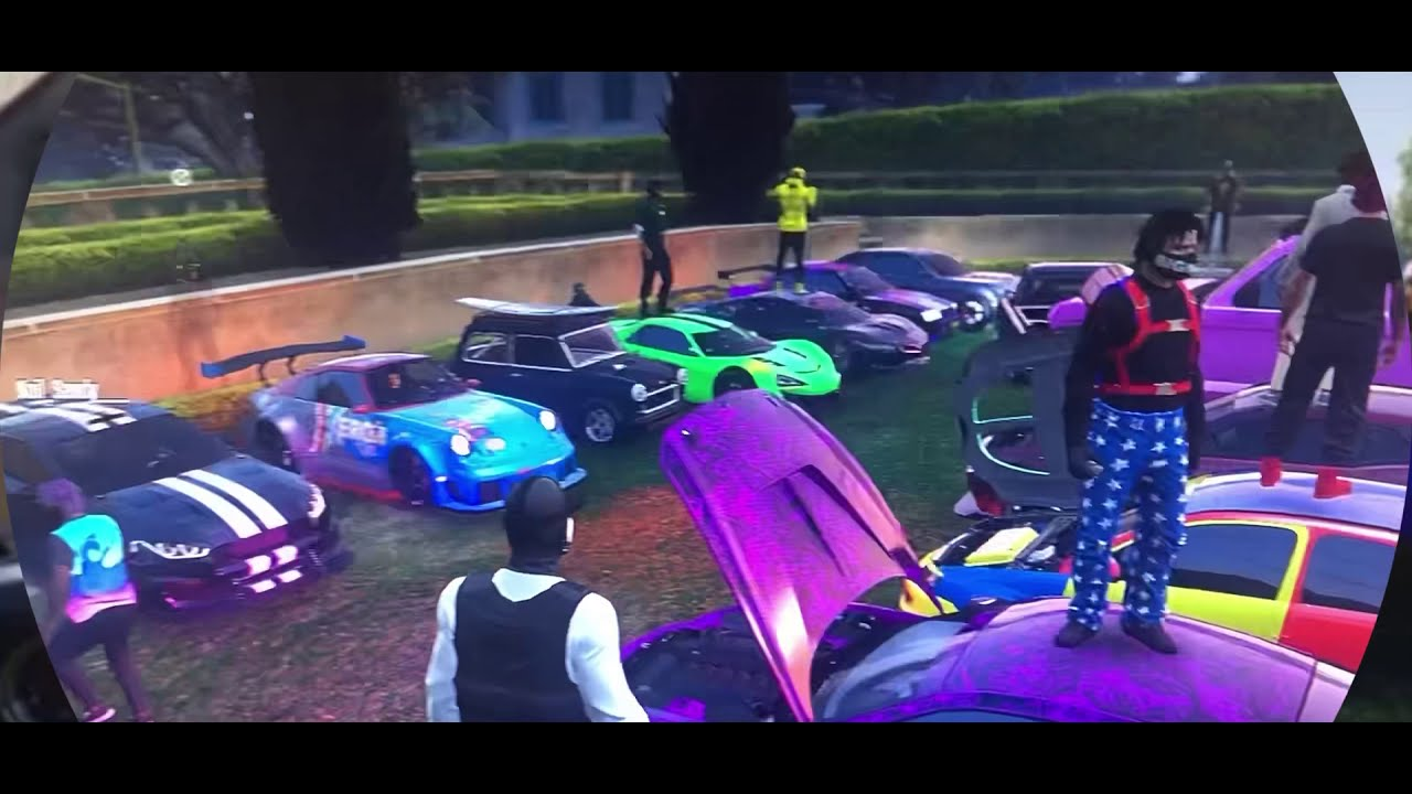 Gta 5 online auto treffen