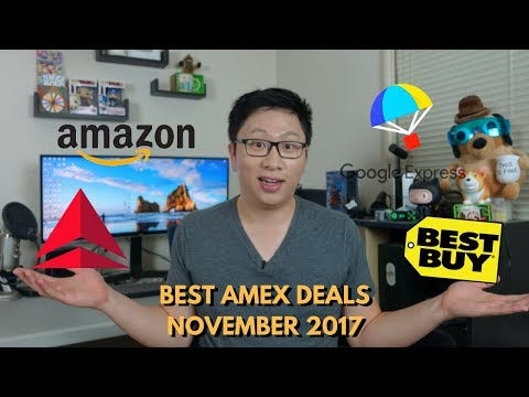 Best Amex Deals and Offers Nov 2017 (Targeted)