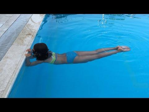 Serbest Stil Yüzmede Etkili Ayak Vuruşu için Temel Bacak Çalışması