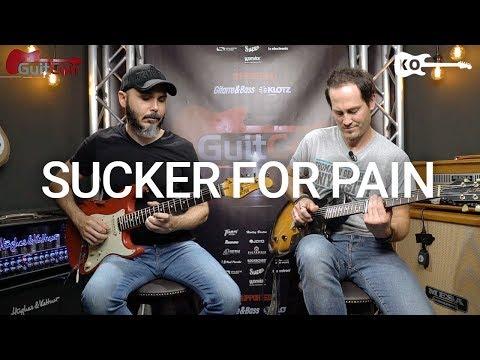Imagine Dragons - Sucker for Pain - Electric Guitar Cover by Kfir Ochaion ft. Kris Barocsi