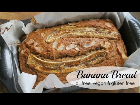 EASY VEGAN BANANA BREAD | OIL & GLUTEN FREE