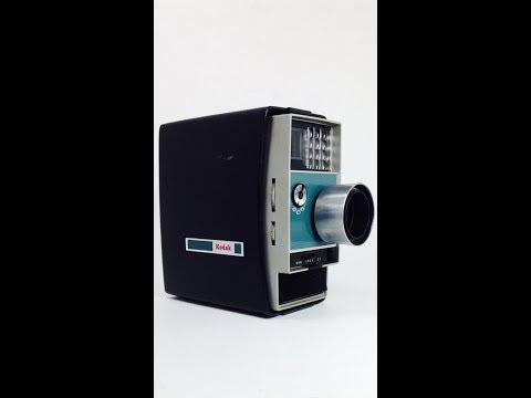 (A LA VENTA) CAMARA KODAK EKTANAR ANTIGUA ELECTRIC 8 AUTOMATIC, lente 13mm,f1.6, hecha en usa.
