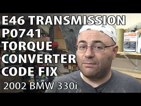 bmw e46 torque converter solenoid