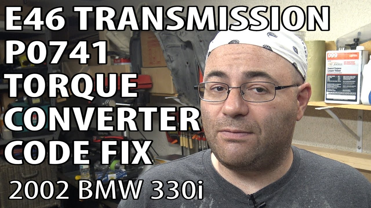 Bmw E46 How To Fix P0741 Torque Converter Clutch Circuit Performance Wireing Diagram For A 1999 Saab 9 3 4 Door